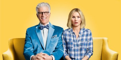 SPOILER The Good Place 1x01:  fiches episodes