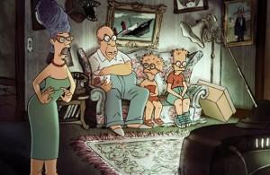 Générique frenchie pour les Simpsons façon Triplettes de Belleville