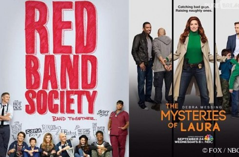 Mercredi 17/09, ce soir : 2 nouvelles séries : The Mysteries of Laura et Red Band Society