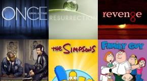 Dimanche 28/09, ce soir : OUAT, Revenge, Resurrection, Brooklyn 99, CSI, Simpons, Family Guy