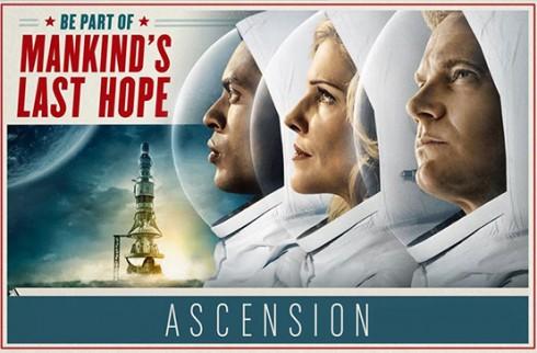 Ascension : une mini série avec Tricia Helfer entre 1963 et l'espace 2014