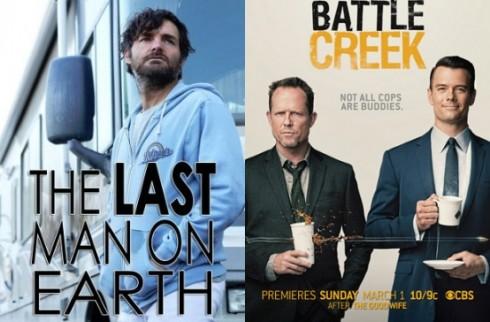 Dimanche 01/03/2015 : Secrets & Lies, Last Man on Earth et Battle Creek arrivent