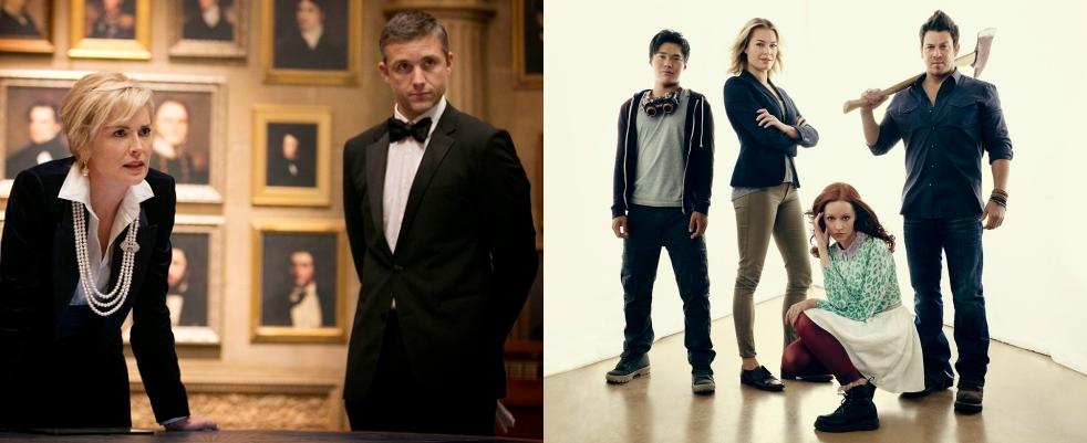 Dates pour Librarians et Legends saison 2, l'Agent X avec Sharon Stone