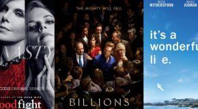 Dimanche 19/2, ce soir : The Good Fight, Big Little Lies, Billions et Crashing