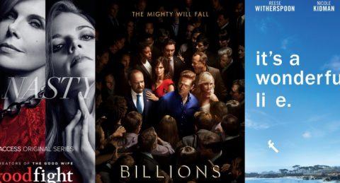 Dimanche 19/2, ce soir : The Good Fight, Big Little Lies, Billions et Crashing showtime