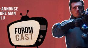 Bande-annonce de Future Man, un chat, Seth Rogen, Snyder, Whedon et pruneau
