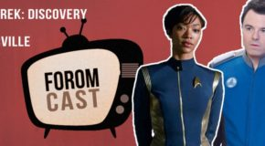 Foromcast Star Trek Discovery vs The Orville + The Punisher