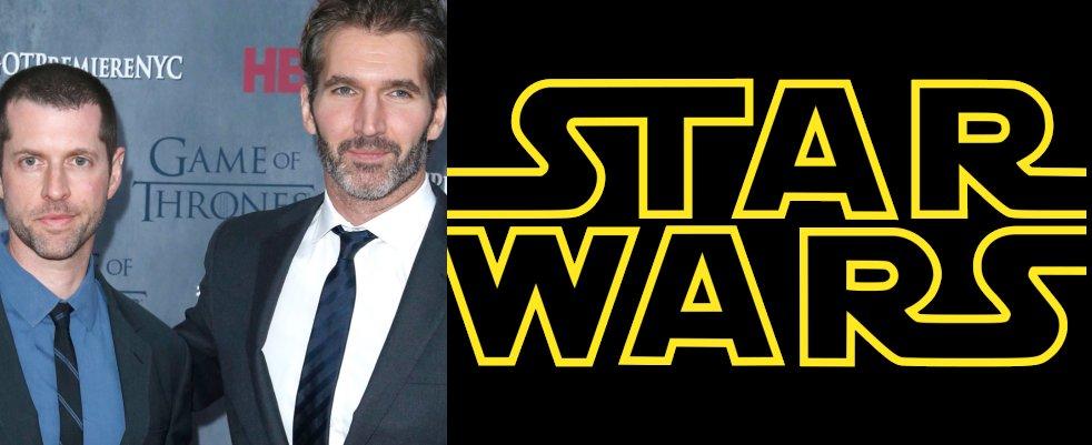 Les showrunners de Game Of Thrones sur la prochaine trilogie Star Wars