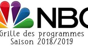 Grille des programmes de la rentrée de NBC saison 2018/2019 et trailers
