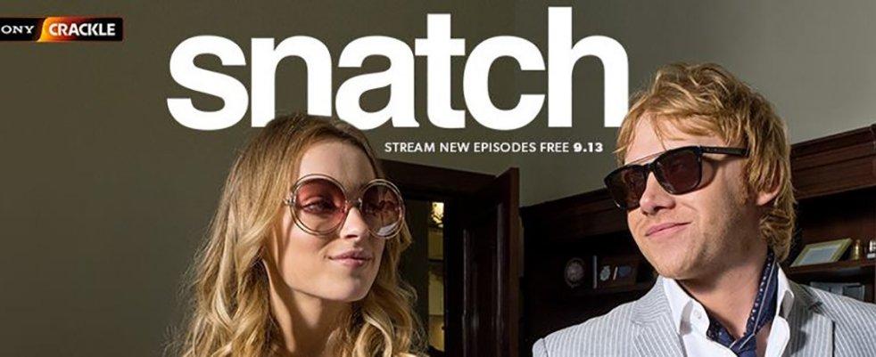 Jeudi 13/9, ce soir : 2ème saison de Snatch sur Sony Crackle !
