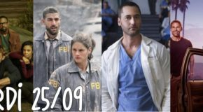 Mardi 25/09, ce soir : FBI, NCIS, Lethal Weapon, This Is Us, New Amsterdam