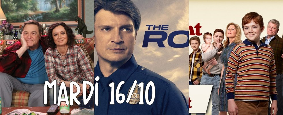 Mardi 16/10, ce soir : The Kids are Alright, The Rookie, The Conners, black-ish