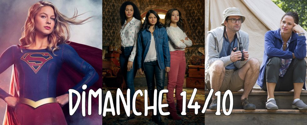 Dimanche 14/10, ce soir : Camping, Charmed 2018 et Supergirl