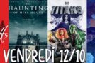Vendredi 12/10, ce soir : The Romanoffs, The Haunting Of Hill House, Titans