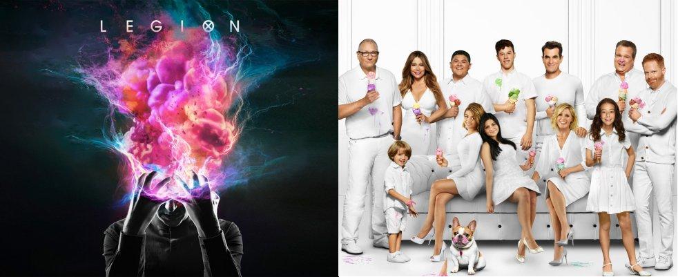 Des fins annoncées pour Legion et Modern Family