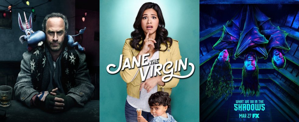 Mercredi 27/03, ce soir : Happy!, Jane the Virgin, What We Do in the Shadows