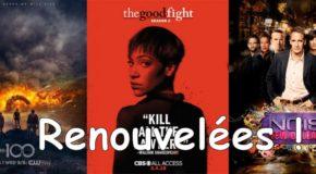 The CW renouvelle toutes ses séries, The Good Fight et spin-offs NCIS
