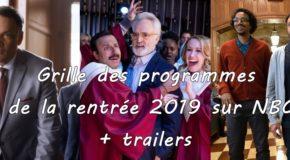 Grille des programmes de NBC et trailers