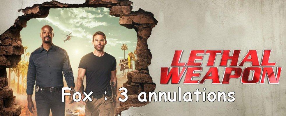 Fox se sépare de The Passage, Lethal Weapon et 3 autres séries (UPDATE)