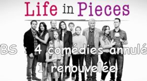 CBS annule 4 comédies et en renouvelle 1