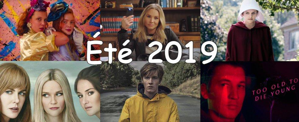 Planning des séries de l'été 2019