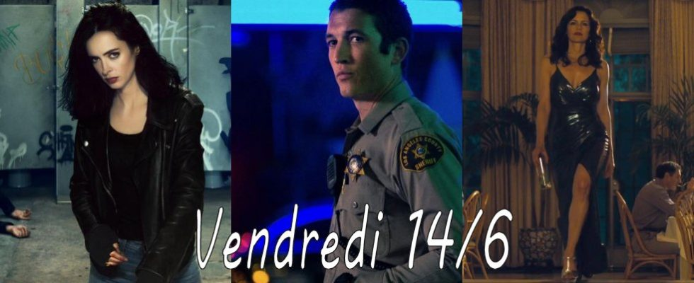 Vendredi 14/6 : Too Old To Die Young, Jessica Jones, Absentia, Jett netflix