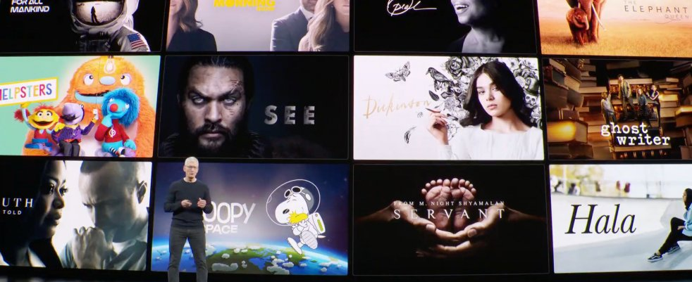 Ce qui vous attend sur Apple TV+ à partir du 1er novembre