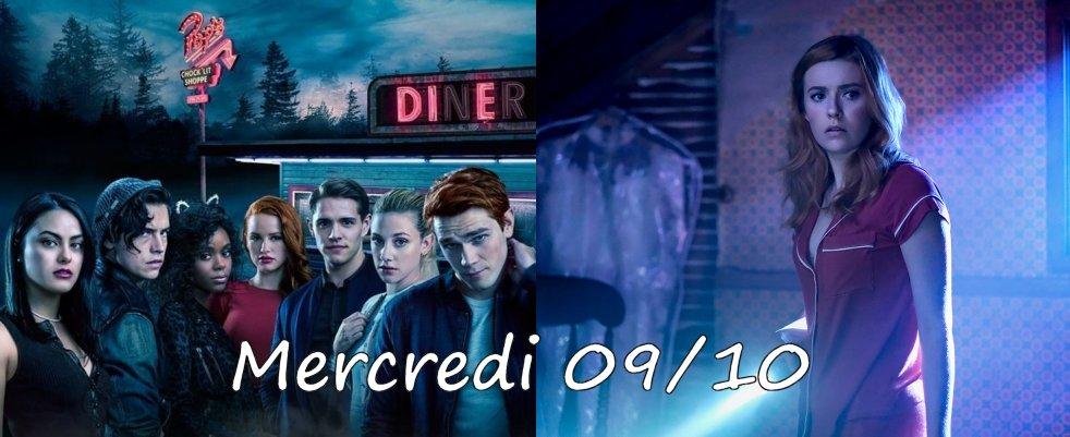 Mercredi 09/10, ce soir : Riverdale, Nancy Drew