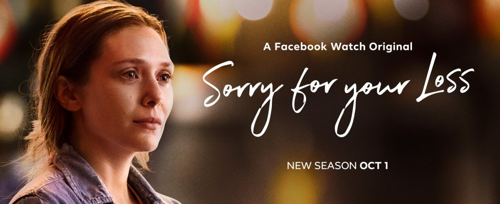 Mardi 01/10, ce soir : Sorry For Your Loss sur Youtube Watch