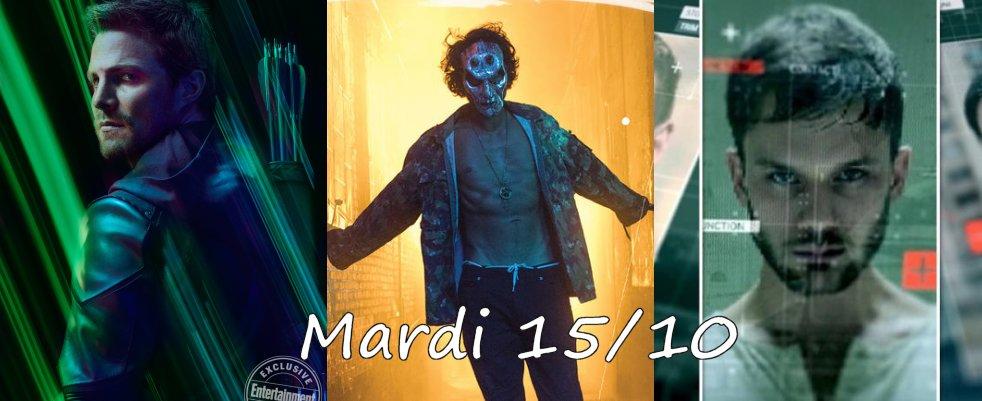 Mardi 15/10, ce soir : Arrow, The Purge, Treadstone
