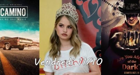 Vendredi 11/10, ce soir : El Camino : BB, Insatiable, Are You Afraid of the Dark ? autres