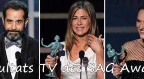 Résultats TV aux SAG Awards