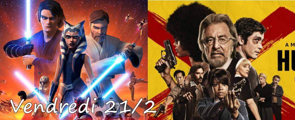 Vendredi 21/02, ce soir : The Clone Wars, Hunters autres