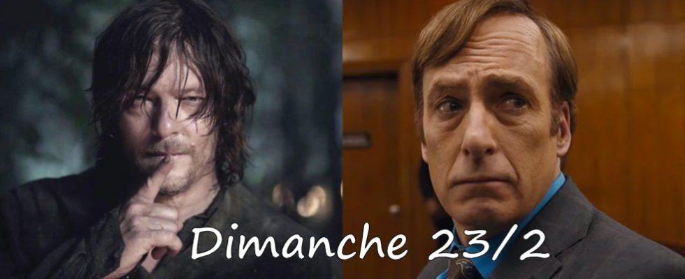 Dimanche 23/02, ce soir : Better Call Saul, The Walking Dead autres