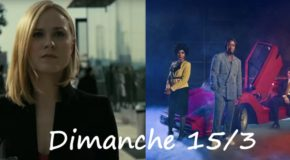 Dimanche 15/3, ce soir : Westworld, Black Monday, Dwight in Shining Armor