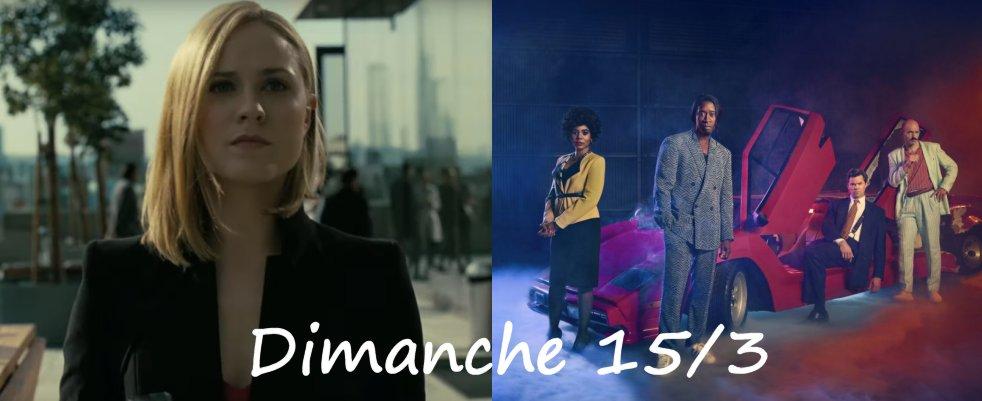 Dimanche 15/3, ce soir : Westworld, Black Monday, Dwight in Shining Armor