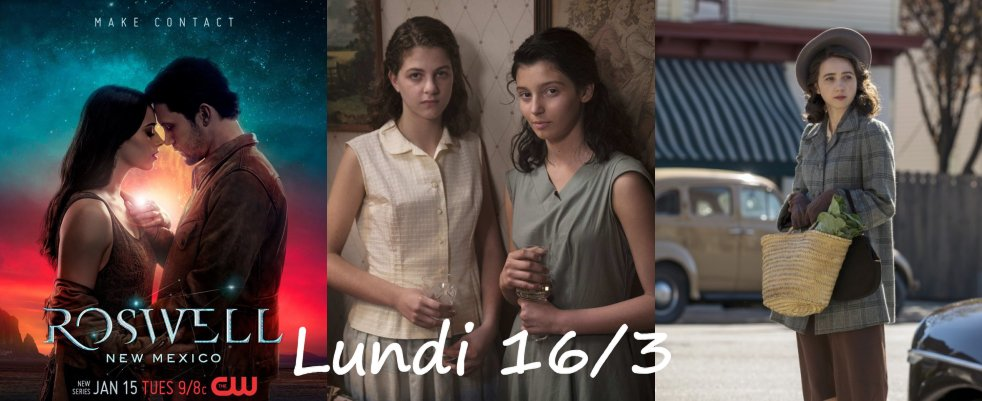 Lundi 16/3, ce soir : Roswell : New Mexico, My Brilliant Friend, Plot Against America