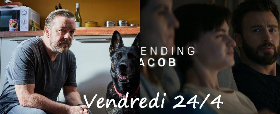 Vendredi 24/04, ce soir : After Life, Defending Jacob