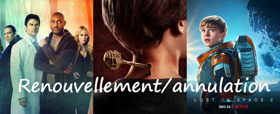 Renouvellements et annulations du mois de mars : V Wars, Lost in Space, Locke & Key