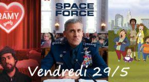 Vendredi 29/5, ce soir : Space Force, Ramy et Central Park