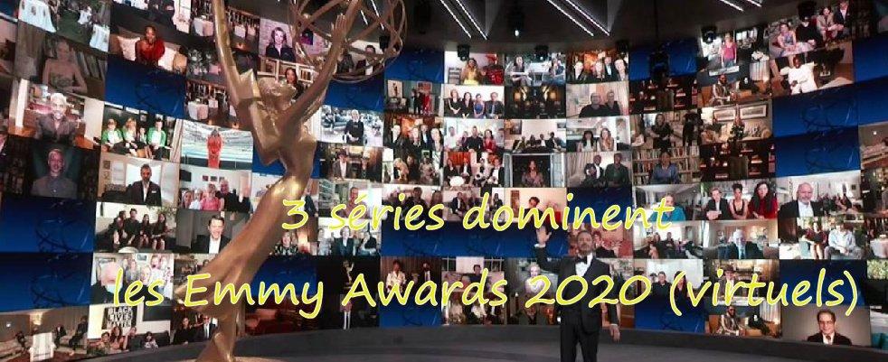 3 séries dominent les Emmys Awards 2020 (virtuels)