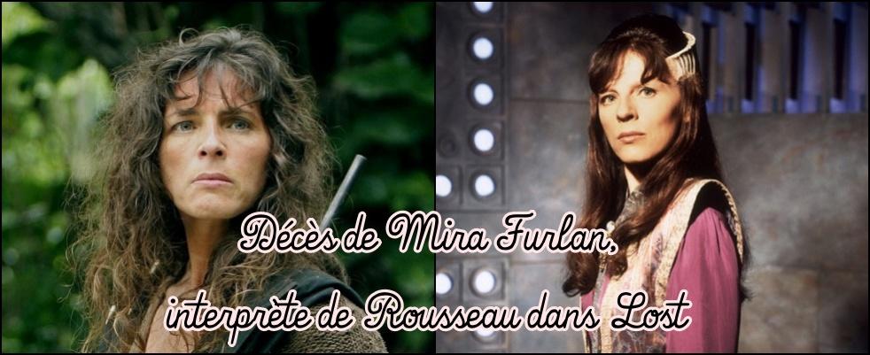 Décès de l'actrice Mira Furlan, Rousseau dans Lost