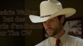 Le pilot de Walker bat des records d'audience sur The CW