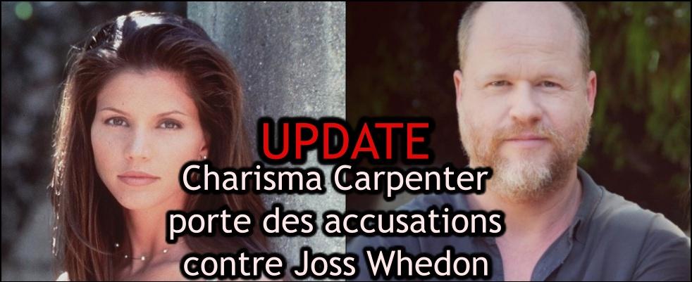 UPDATE Charisma Carpenter accuse Joss Whedon de harcèlement psychologique, reçoit plusieurs soutiens