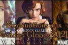 Les nominations télé à la 78ème cérémonie des Golden Globes