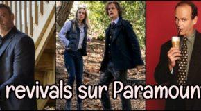 3 revivals sur Paramount+ (anc.CBS All Access)