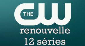The CW renouvelle 12 séries