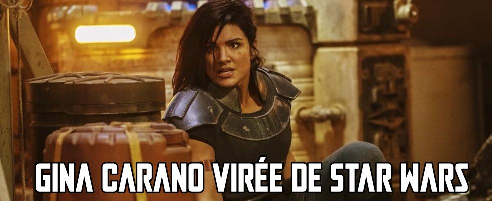 Gina Carano virée de Star Wars après un nouveau dérapage