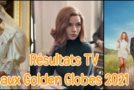 Résultats TV aux Golden Globes 2021