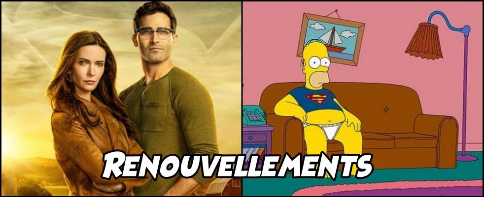 Renouvellement de The Simpsons et Superman & Lois